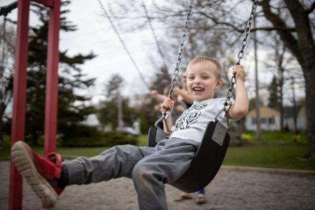 Three-year-old Lucas Waring