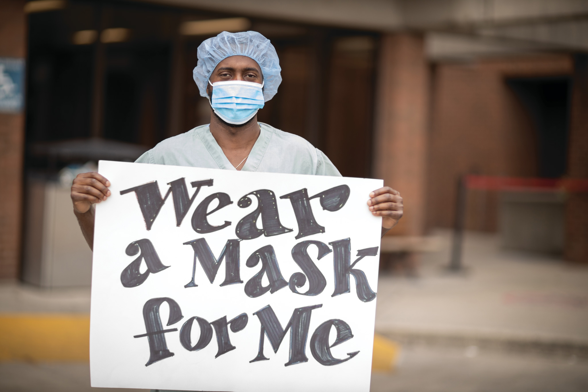 wear a mask for me
